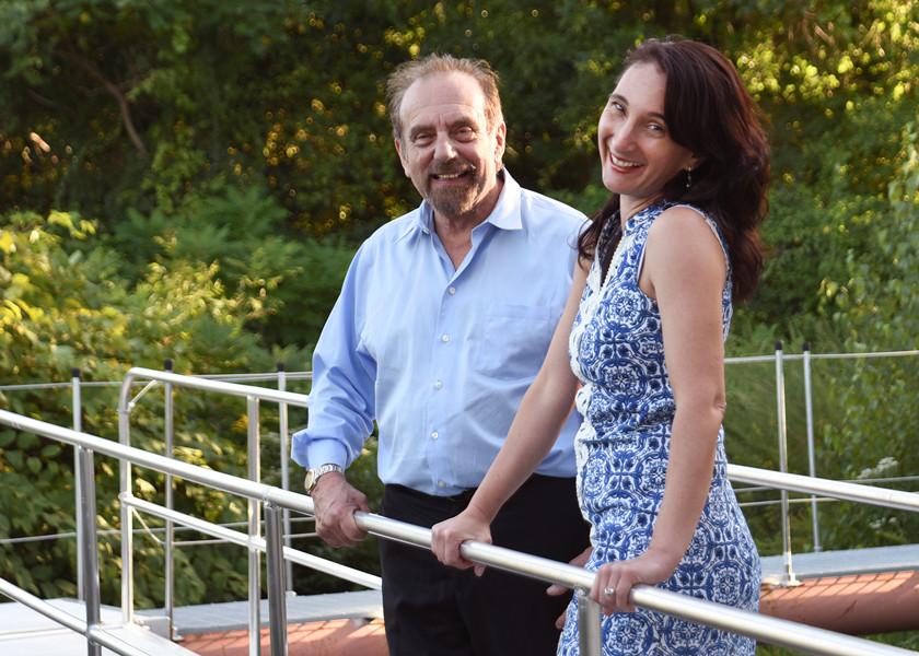 Don & Dawn Photo for Delbarton School
